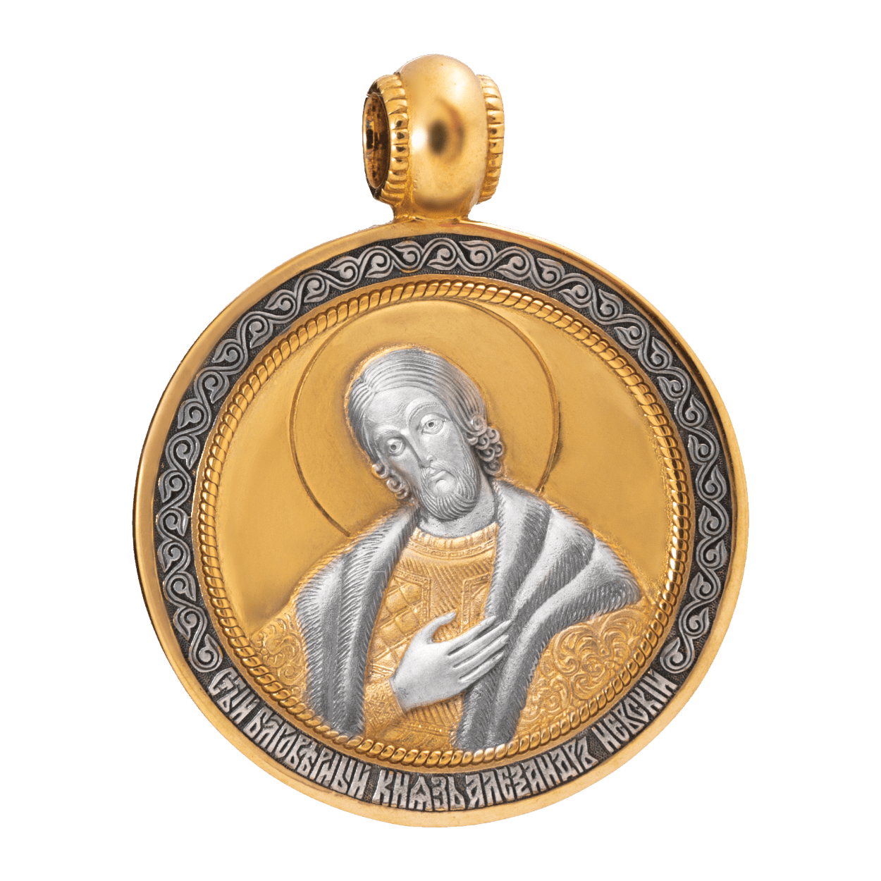 is017_a-russian-orthodox-icon-silver-medal-pendant-saint-alexander-nevsky-master-jeweler-fedorov-min
