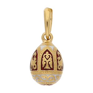 Russian-Orthodox-silver-enamel-Easter-Egg-pendant-HIDDEN-TREASURE-Master-Jeweler-Fedorov