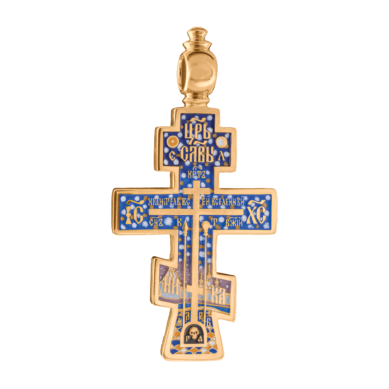 russian-orthodox-silver-enamaled-cross-pendant-old-believers-cross-master-jeweler-fedorov